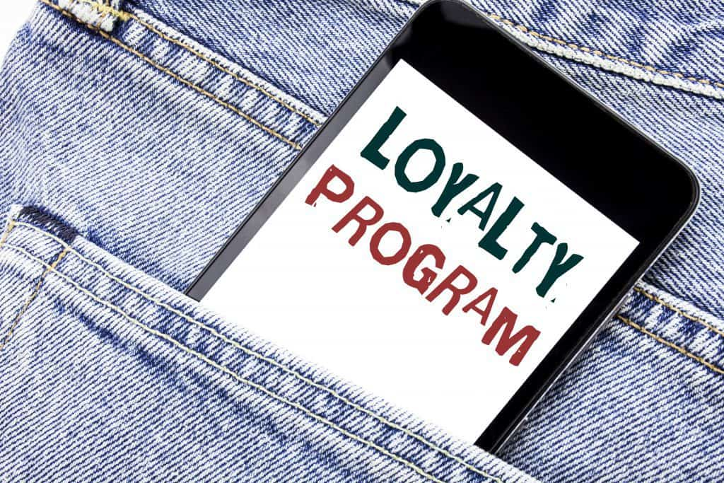 Loyalty Rewards Programs helps increase sales.