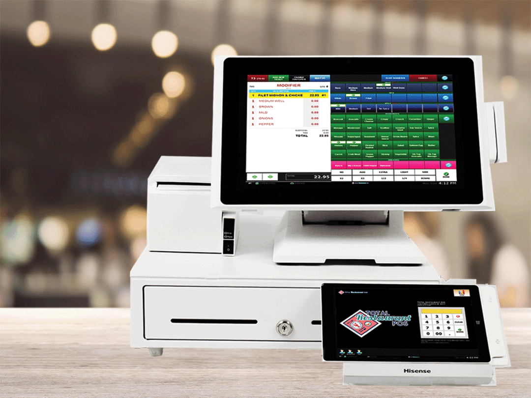 Total Restaurant Point of Sale Windows Cloud-Based Point Of Sale software.