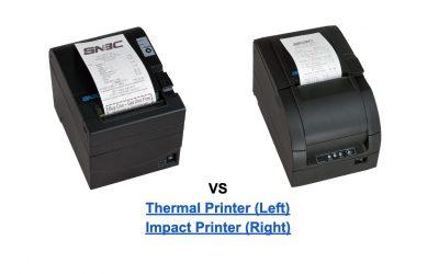 Thermal vs Impact Printers